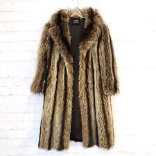 New ListingVintage Emilio Gucci Women's Authentic Full Length Raccoon Fur Coat Cutter ?