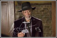 Morgan Freeman, Autographed, Cotton Canvas Image. Limited Edition (MF-1)