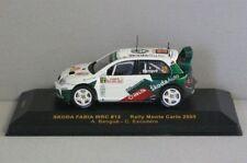 Skoda Fabia WRC #12 Rally Monte Carlo 200 - 1:43 - IXO Models