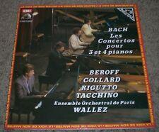 Bach Concertos Pour 3 Et 4 Pianos~France Import~NM Vinyl~Beroff~Collard~Rigutto