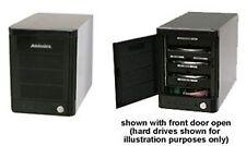 """Addonics Mini Storage Tower - Black 4x3.5""""SATA HDD, JBOD, eSATA/USB3.0 Interface"""