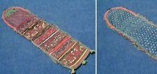 Kleine antike Tasche; mit Stickerein zur Aufbewarung kleiner Utensilien