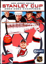 New Jersey Devils 2003 Stanley Cup Champions (DVD, 2003)