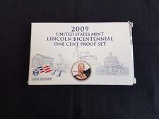2009 4-COIN COMMEMORATIVE LINCOLN CENT PROOF SET Complete Box & COA