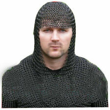 Medieval & Renaissance Chainmail Coif Chain Mail Hood Reenactment & Theater