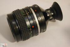 Minolta MC Rokkor-PG 1,4/50 mm mit original Monokular 20x Vergrösserung