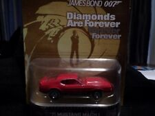 2014 HOT WHEELS RETRO TV SERIES DIAMONDS ARE FOREVER MUSTANG MACH I HOTWHEELS