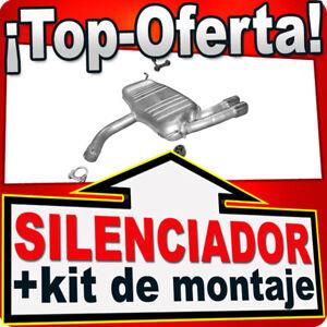 Silenciador Trasero para VW GOLF V (1K1) 2.0 GTi 200 / 230HP Escape
