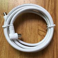 Cable Antena de TV de RF de ángulo Recto Metro Macho a Coaxial Coaxial Bla*ws