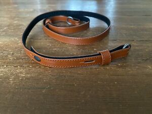 Leica Leather Carrying Strap Cognac 14454