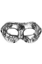 Masque OTELLO Argenté Taille Unique. Ref:709715