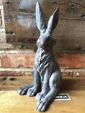 Vintage Garden Ornament Animal Sculpture Statue Long Eared Hare Large Rabbit A