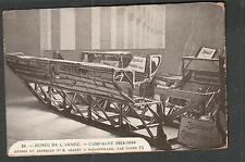 unmailed Army Museum post card-WWI debris du Zeppelin No 8 Abatttu a Badonviller