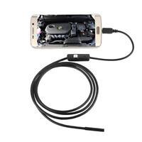 6 LED-wasserdichtes 2M 7mm Objektiv Endoskop Inspektionskamera für Android Phone