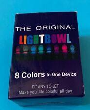 Original Light Bowl Night Light LED Toilet Bowl Passive InfraRed Motion Detector