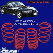 ProSport 30mm Lowering Springs for BMW Z3 Roadster Lifetime Warranty 120677