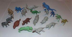 1960's MPC PREHISTORIC ANIMAL DINOSAUR NABISCO CEREAL PREMIUM PLAY SET MARX