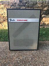 Fender Vibratone Leslie 16 Rotating Electric Guitar Speaker Cabinet Vintage 60's