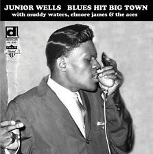 Junior Wells - Blues Hit Big Town LP REISSUE NEW DELMARK w/ Muddy Waters, Aces
