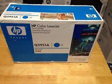 Genuine HP Color LaserJet 4700 Color 643A Cyan Toner Q5951A Brand New Sealed