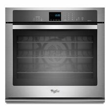 """Whirlpool GOLD WOS92EC0AS Stainless 30"""" Convection 5.0 Single Electric Wall Oven"""