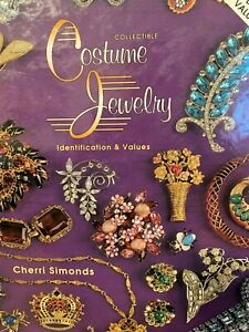 Vintage Costume Jewelry Collectors Price Guide Pictures Identification BOOK HB