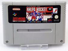 Super Nintendo SNES juego-fifa International Soccer + nhlpa hockey 93