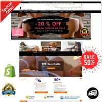 Shopify Dropshipping Adult Category Store/Website with 40 winning Products