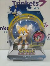 "Sonic The Hedgehog - Tails 4"" Bendable Action Figure by Jakks Pacific NEW"