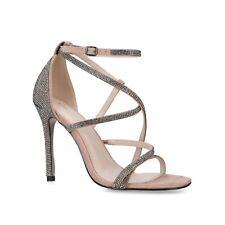 Kurt Geiger Size UK 8 EU 41 Nude Tacón Alto Zapatos Sandalias Fiesta de Boda Nuevo