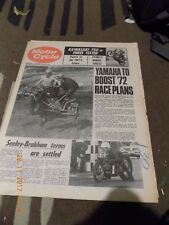 Motor Cycle/10,11,1971/kawasaki mach lv test/ags 125/british 250 mx gp