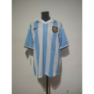 Argentina soccer jersey Reebok 1999/2000 Size L New in bag