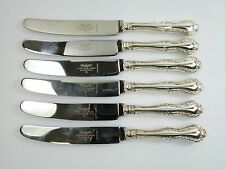 MAPPIN & WEBB Cutlery - RUSSELL Pattern - Dessert Knives - Set of 6