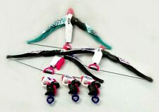 Nerf Rebelle Bundle Gun Crossbows Pink Purple Green Girls - NO AMMO