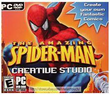 BRIGHTER MINDS Create Comics THE AMAZING SPIDER-MAN CREATIVE STUDIO Rated E DVD