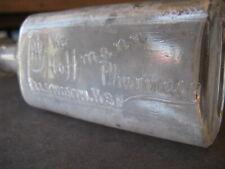 The Hoffmann Pharmacy, Ellsworth, Kansas Drug Store Bottle