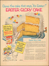 1953 Vintage ad for Swans Down Cake Flour`Easter Glory Cake Photo (062616)