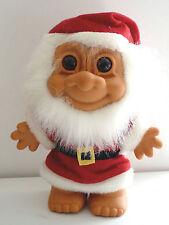 "RARE HTF Christmas Santa  with Beard 8"" Russ  Troll NEW"
