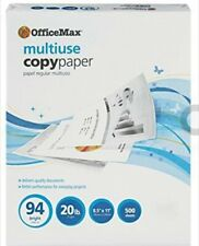 Office Max_Copy Paper_94 Bright_500 Sheets