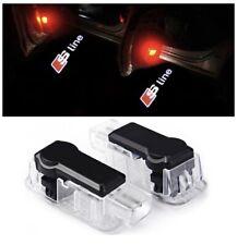 AUDI 2 x éclairage de porte projecteur logo LED A1 A2 A3 A4 A5 A6 A7 A8 S Line