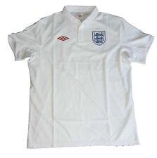 England Trikot Home 2009/10 Umbro L Shirt Jersey Maillot Camiseta Maglia