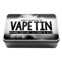 Personalised Vaping Storage Tin coils rings supplies