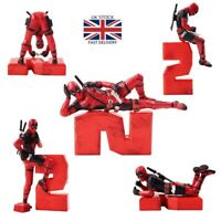 Marvel Deadpool 2 PVC Action Figure Model Collection Toys Gifts Car Cake Decor