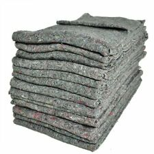 Pack of 10 Furniture Moving Van Removal Packing TRANSIT Fabric Blankets -200cm X 150cm
