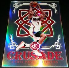 Chris Paul 2016-17 Panini Excalibur CRUSADE SILVER PRIZM Insert Card (no.37)
