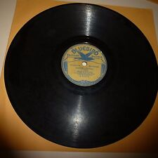 PREWAR COUNTRY 78 RPM RECORD - LASSES AND HONEY - BUFF BLUEBIRD 6197