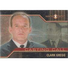 Marvel Iron Man Movie Casting Call Chase Card CC8 Agent Phil Coulson