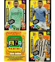 PANINI ADRENALYN XL CALCIATORI 2020-21 SET COMPLETO LIMITED EDITION PREMIUM ORO
