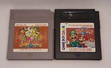 Lot de 2 jeux Game & Watch Gallery 2 & 3 pour Game Boy