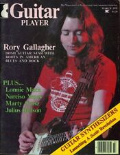 Rory Gallagher Guitar Player Magazine March 1978